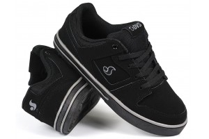 DVS Everett LO Black Suede