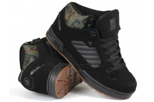 DVS Militia Boot BrnCamo Nubuck
