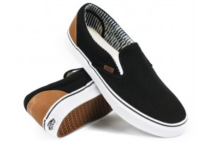 Vans SlipOn CL BlackStripeDenim