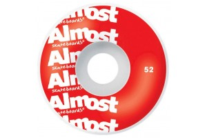 Almost Color Logo Red 8