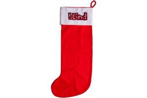 Blind kalėdinių dovanų kojinė riedlentei