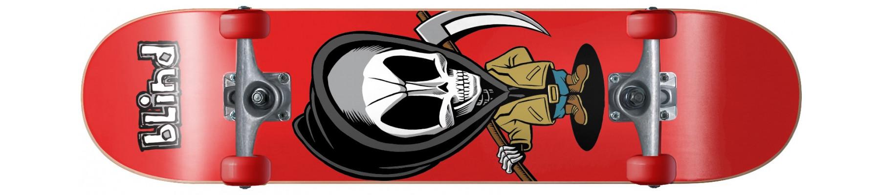 Blind Bone Thug Soft Wheels Red 7.63