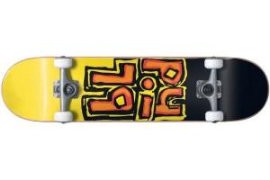 Blind OG Stacked Black Yellow Soft Wheels 7.5