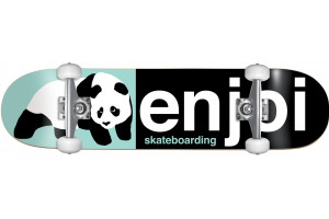 Enjoi Half and Half BlackLight Green 92A 8.0