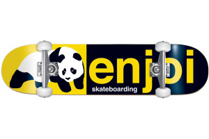 Enjoi Half and Half BlackYellow 8.0