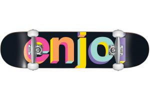 Enjoi Helvetica Nue Neon Spectrum 8