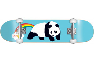 Enjoi Rainbow Fart Resin Soft Wheels BLUE 7.75