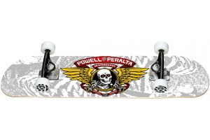 Powell Peralta Winged Ripper One Off Silver 8