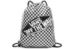 Vans BENCHED BAG BlackWhite Checkerboard