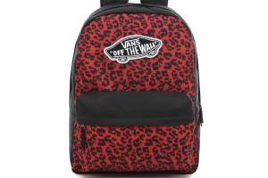 Vans REALM Wild leopard red
