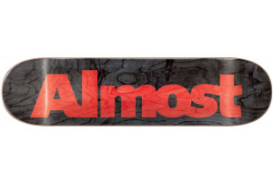 ALMOST Ultimate Logo R7 Black 8.5x32.2 M