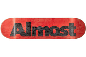 ALMOST Ultimate Logo R7 red 8.25x31.9 M