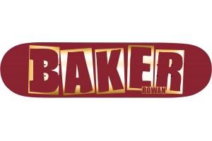 Baker RZ Brand Name Red Foil B2 8.38