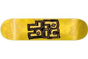 Blind OG Stacked Stamp yellow 7.75