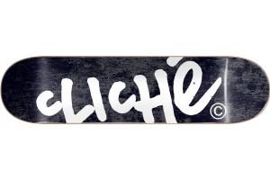 Cliche Handwritten Black