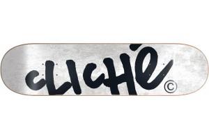 Cliche Handwritten White