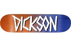 Deathwish Dickson OrangeNavy Gang Name 8.25