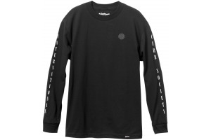 Almost Curb Society Blk LS Tee