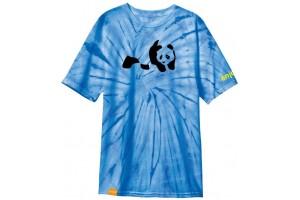 ENJOI Panda Premium Blue Pinwheel Tie Dye