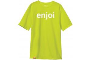 Enjoi Helvetica logo BlkGrn Safegrn