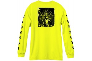 Madness Expanded LS Tee Safety Green