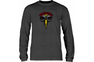 Powell Peralta Vallely Elephant LS  Charcoal