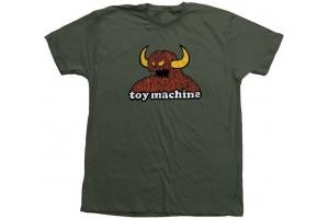 Toy Machine FURRY MONSTER TEE moss