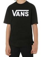 VANS CLASSIC BOYS BLACK WHITE