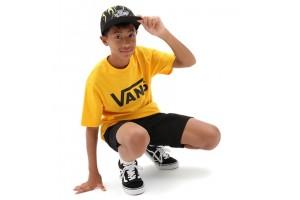 VANS CLASSIC BOYS SAFFRON BLACK