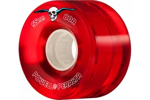 Powell Peralta Clear Red 80A 55mm
