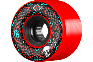 Powell Peralta Snakes Soft Slide 75a Red