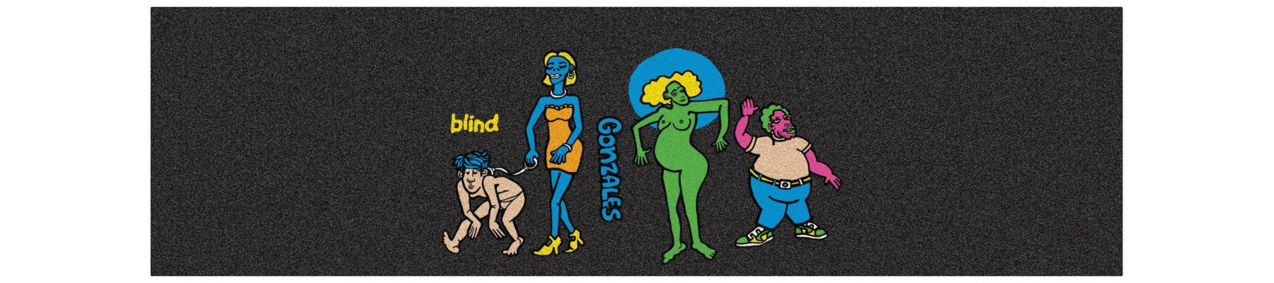 """BLIND Gonz Colored People 10"""" x 33"""""""