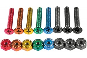 Enjoi Anodized Bolts 1""