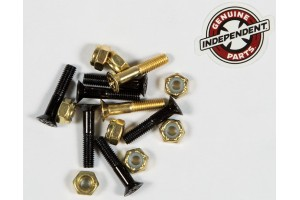 Independent Hardware Blk Gold 1""