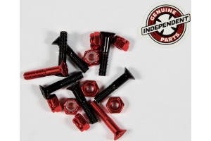 Independent Hardware Blk Red 1""