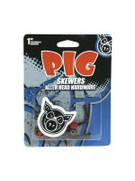 "Pig Hardware red 1"" x 10/box"